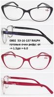 0802  53-16-137 RALPH готовые очки рефр от 1.5до 6.0